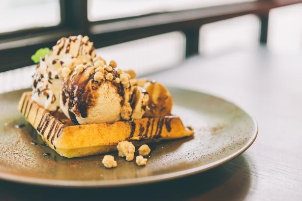 อาหารว่างสำหรับคนท้อง_Banana Ice cream