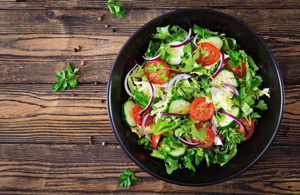 อาหารว่างสำหรับคนท้อง_Salad