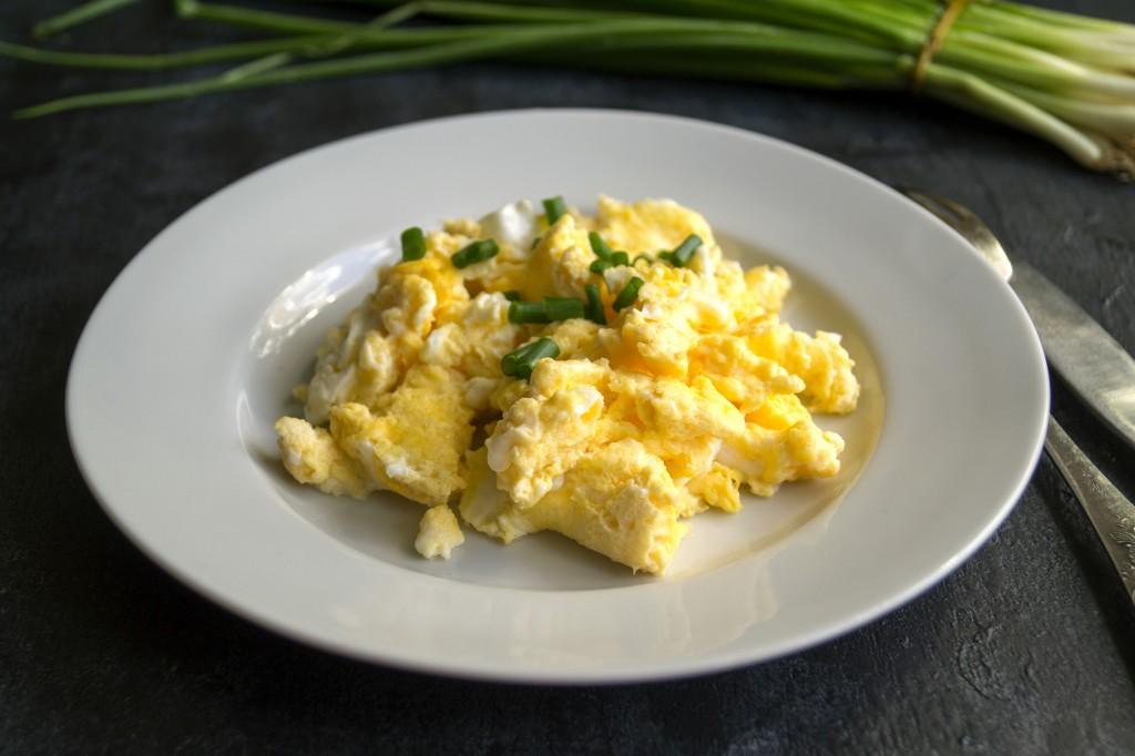 เมนูไข่ ไข่คน