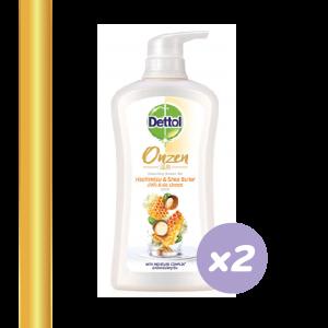 01_สบู่เหลง ครีมอาบน้ำ_Dettol Onzen Nourishing Shower Gel