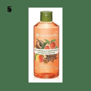 05_สบู่เหลว ครีมอาบน้ำ_Yves Rocher Energizing Peach Star Anise Shower Gel